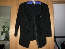 Sweater w/sequins & snap buttons in Ramstein, Germany
