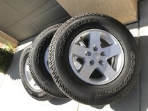 2017 Jeep Wrangler Wheels & Tires (5) total in Hemet, California