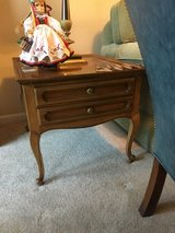 Maple side table w/ drawer in Bartlett, Illinois