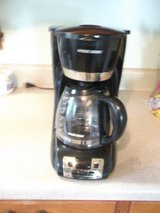 Black and Decker coffee maker in Fort Campbell, Kentucky