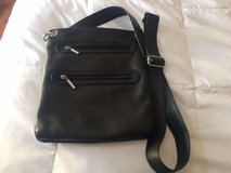 Black Leather Cross Body Purse in Lockport, Illinois