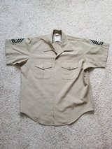 USMC Short Sleeve Dress Shirt- NEW in Camp Lejeune, North Carolina