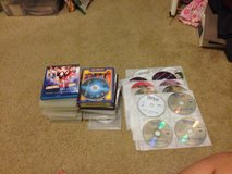 collection of blu rays/dvds in Eglin AFB, Florida