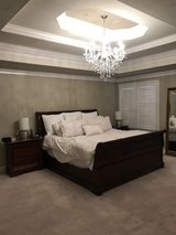 King Sleigh Bed in New Lenox, Illinois