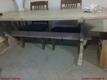 Rustic large dining room table in Alamogordo, New Mexico