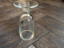 Clear glass candle holder in Batavia, Illinois