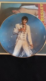Elvis plate in Yucca Valley, California