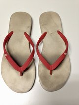 Red flip flops by A & F  - Sz. 9 in Bolingbrook, Illinois