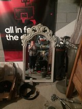 large old mirror from the 70s in Fort Campbell, Kentucky