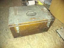 Antique box in Fort Campbell, Kentucky