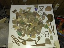 Civil war relics and other dug relics in Clarksville, Tennessee
