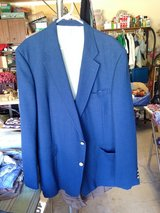 King Sz.- Blue Suit coat by Palm Beach in Naperville, Illinois