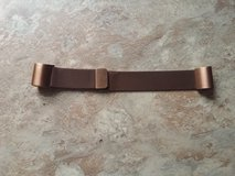 Coffee color stainless steel fitbit charge band in Fort Campbell, Kentucky