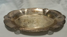 Vintage Real SILVER Serving Tray in Columbus, Georgia