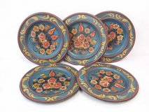 Hand painted wooden wall plates D 30,5 cm - 12 inch. in Wiesbaden, GE