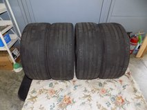 (4) 235/40 R19 Continential Tires (Matching Set) in Camp Lejeune, North Carolina