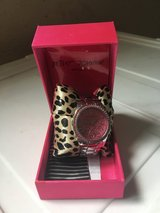 Betsey Johnson pink watch in Lakenheath, UK