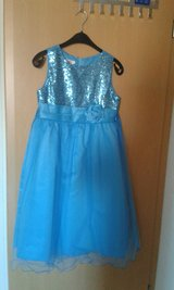 Girls aqua blue dress in Baumholder, GE