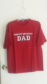 "New with tags!  ""World's Greatest Dad""  T-shirt in Naperville, Illinois"
