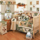 Zanzibar 15 piece Safari Crib Bedding Set in Okinawa, Japan