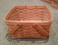 Longaberger Cake Basket with Protector in Chicago, Illinois