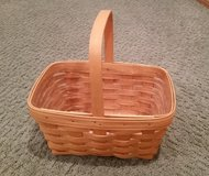 Longaberger Spring Basket with Protector in Orland Park, Illinois