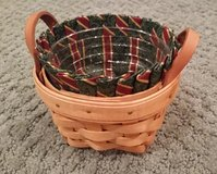 Longaberger Thyme Basket Liner and Protector in Orland Park, Illinois