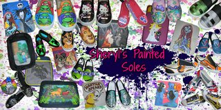 OOAK Hand Painted Minecraft Shoes Adult & Youth Slip-Ons in Kingwood, Texas