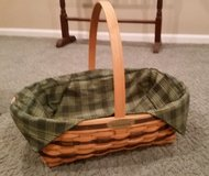 Longaberger Traditions Basket and Liner in Naperville, Illinois