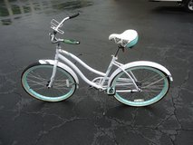 "Huffy Cranbrook Bicycle, Women's 26"" White and Powder Blue in Fort Benning, Georgia"