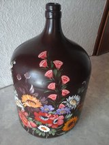 Painted balloon bottle in Baumholder, GE