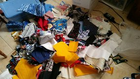 Fabric Scraps over 9lbs! in Barstow, California