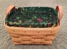 Longaberger Tea Basket, Protector and Liner in Glendale Heights, Illinois