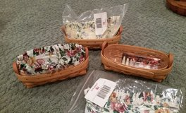 Longaberger Lavender Baskets, Protectors and Liners in Plainfield, Illinois
