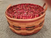 Longaberger Shades of Autumn Basket of Plenty, Protector and Liner in Glendale Heights, Illinois