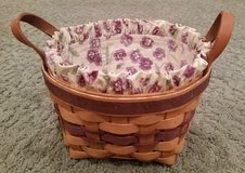 Longaberger Basket #5 Liner and Protector in Glendale Heights, Illinois