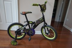 "Kid Bike TMNT 16"" Bicycle (with removable training wheels) in Batavia, Illinois"