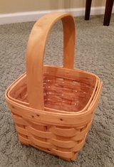 Longaberger Small Peg Basket and Protector in Naperville, Illinois