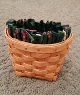 Longaberger Oregano Booking Basket, Protector and Liner in Naperville, Illinois