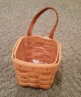 Longaberger Chives Basket, Protector and Liner in Bolingbrook, Illinois
