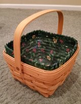 Longaberger Large Berry Basket, Protector and Liner in Bolingbrook, Illinois