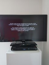 Samsung LCD TV 40 inch, LG BluRay Player, 141 BluRay & DVD movies, 2 Surge Protectors, step down... in Schweinfurt, Germany
