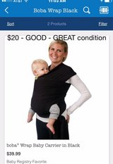 Boba Baby Wrap Carrier in Orland Park, Illinois