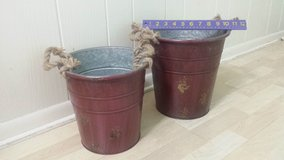 New!  Set of 2 Rustic Buckets or Bins in Chicago, Illinois