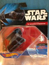 Hot Wheels-Star Wars, Darth Vaders Tie Advanced X1 Prototype in Naperville, Illinois