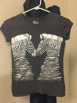 Zebra shirt in Lakenheath, UK