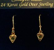 Gold over sterling fashion earrings in Columbia, South Carolina