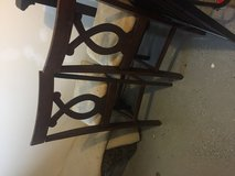 Set of 4 dinning chairs in Hinesville, Georgia