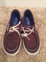 Boys Sperry deck shoes in Schaumburg, Illinois