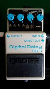 Boss dd3 delay pedal in Fort Campbell, Kentucky